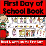 First Day of School/Back to School Book (Distance Learning & First Week Writing)