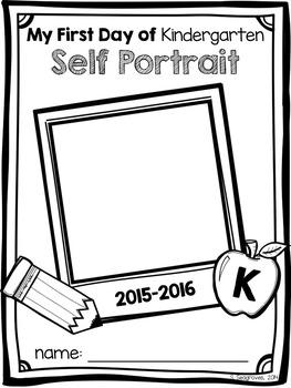Back to School First Day of School Self Portrait Freebie