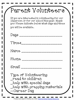 Back to School First Day of Second Grade Welcome Packet