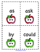 Back to School: First Grade Dolch Sight Word Game