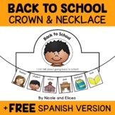 Back to School Activity Crown and Necklace