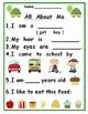First Grade Back to School: Starter Kit