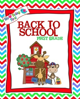 Back to School First Graders!