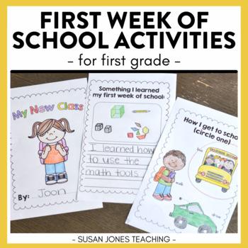 Back to School - First Week Fun!