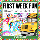 Back to School First Week Fun Pack