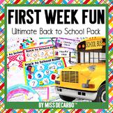 Back to School First Week Fun Pack