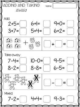 First Week of School Printables and Assessment Package