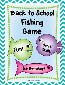 Back to School Fishing Game