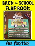 Back to School Flap Book Keepsake for FIRSTIES