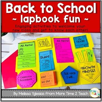 Back to School {Flap Books Fun}