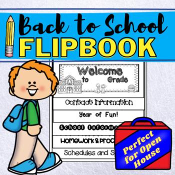 Back to School Flip Book!