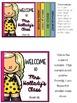 Back to School Flip Book [EDITABLE]