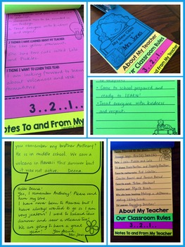 Back to School Flip Book - Getting to Know You