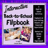Back to School Flip Book - Interactive (Grades 7, 8, 9, 10)