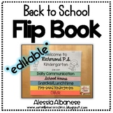 Back to School Flip Book for Parents