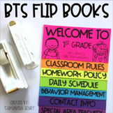 Back to School Flip Books (editable)