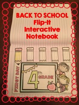 Back to School Flip-It Book