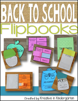 Back to School Flipbook Bundle
