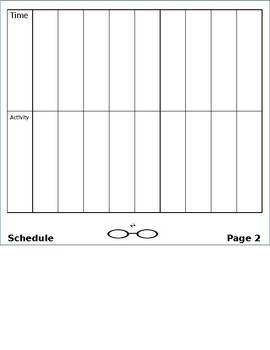 Back to School Flipbook Editable - Harry Potter