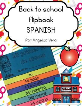 Back to School Flipbook (SPANISH)