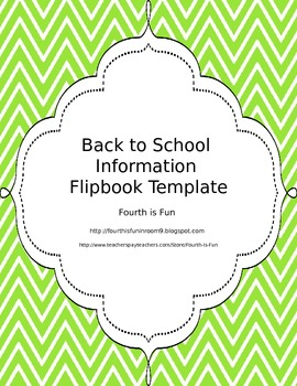 Back to School Flipbook Template