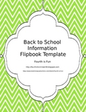 Back to School Flipbook Template