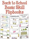 Back to School Basic Skill Flipbooks