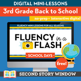 Back to School Fluency in a Flash 3rd Grade • Digital Flue