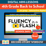 Back to School Fluency in a Flash 4th Grade • Digital Fluency Mini Lessons