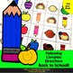 Back to School Following Complex Directions FREEBIE