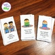 Back to School Following Directions Cards & Coloring Sheets