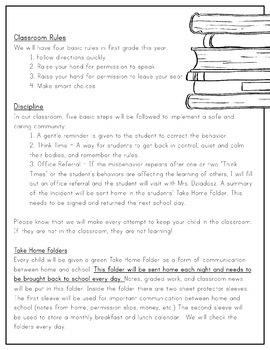 Parent Handbook [EDITABLE]