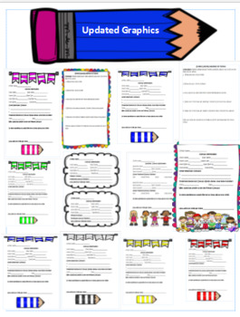 Updated! Back to School Forms Bundle: 20+ forms, Digital and Paper Logs