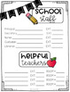 Back to School Forms (Digital and Paper Versions)