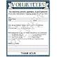 Back to School Forms: Parent Sign-In, Transportation Sheet, & Parent Volunteer