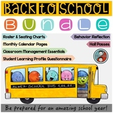 School Forms, Passes, Calendar, and More Bundle Ideal for