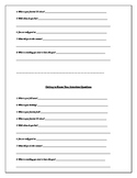 Back-to-School Forms and ELAR Activities