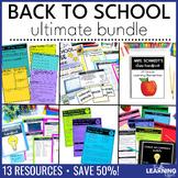 Back to School Forms, Printables, Checklists | Editable BUNDLE
