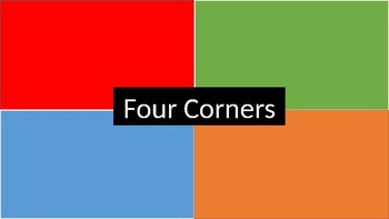 Back to School Four Corners