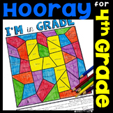 Back to School 4th Grade (First Week or Day 4) activities, LA, Math, Writing