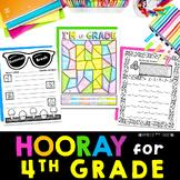 Back to School 4th Grade | First Week of School Fourth Gra