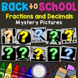 Decimal And Fraction Operations Math Coloring Worksheets For 5th Grade Up