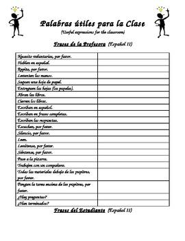 Back to School - Frases Importantes de la Clase