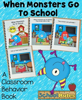 Back to School Free Behavior Book