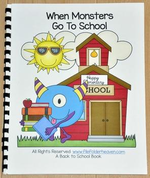 Back to School Free Behavior Book