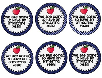 Back to School Free Generic Gift Bag Tags