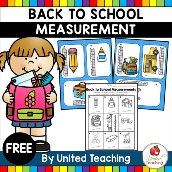 Back to School Free Measurement Math Center
