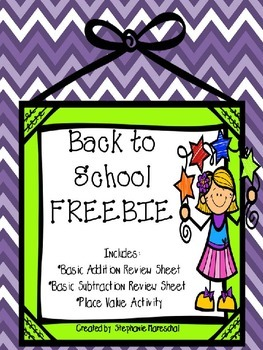 Back to School {Freebie}