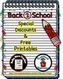 Back to School Freebie #20 -  #StartFreshBTS - Preschool b