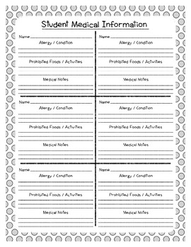 Back to School Freebie #22 -  Teacher Planner Book - Preschool by Narcissa